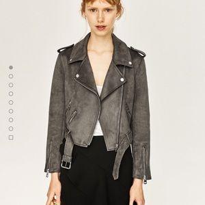 Suede Zara Jacket size xsmall